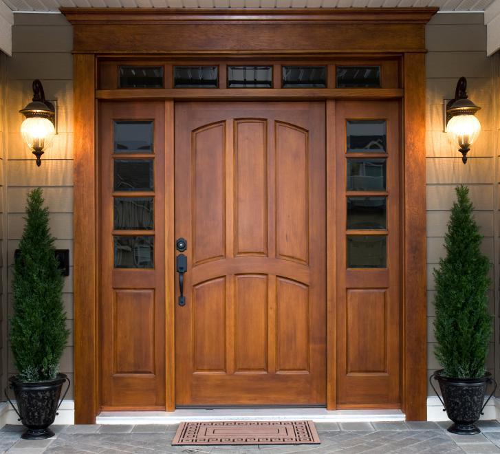 Drevené vchodové dvere