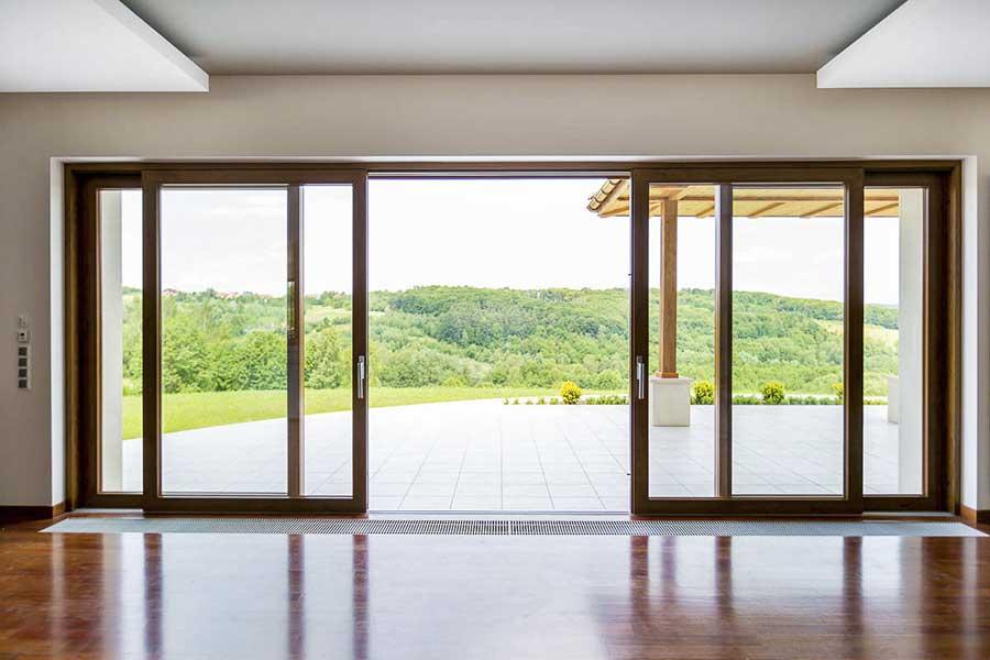 Posuvné balkónové dvere