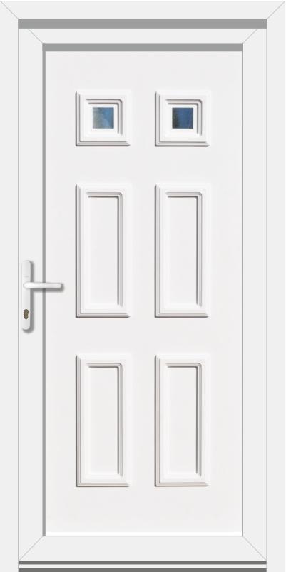Plastové vchodové dvere