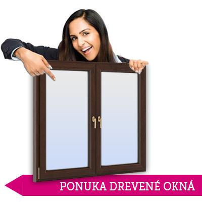 ponuka drevené okná